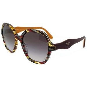 PR06US-TH63E2-52 Oval Women Multi Frame Sunglasses
